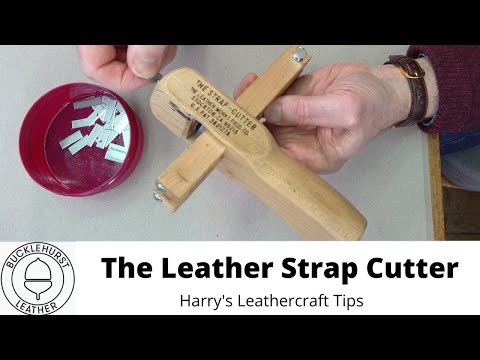 How To Use A Leather Strap Cutter