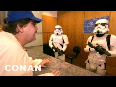 """Michael Moore's """"Star Wars Episode VII"""" Audition Tape - CONAN on TBS"""