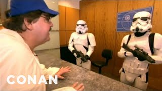 michael moore s star wars episode vii audition tape conan on tbs