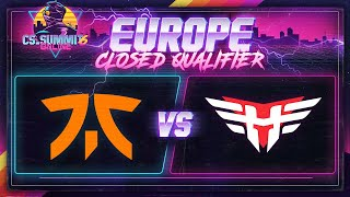 Fnatic vs Heroic (Train) - cs_summit 6 Online: EU Closed Qualifiers - Game 1