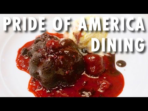 Pride of America Tour & Review: Dining ~ Norwegian Cruise Line ~ Cruise Ship Tour & Review