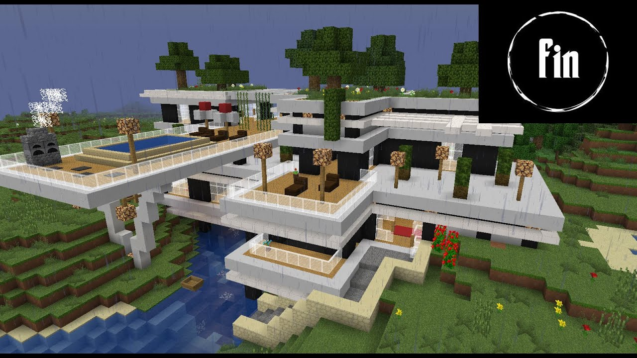 TUTO / Chambre Moderne Minecraft by Sodax