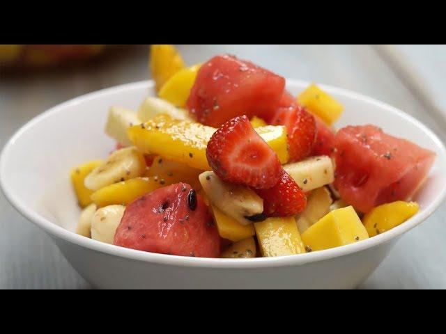 Tatlı Ekşi Soslu Meyve Salatası Tarifi, Nasıl Yapılır?