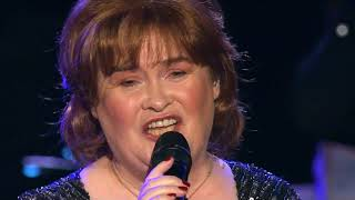 Susan Boyle singing at the Big Sing in Edinburgh Nov. 2018
