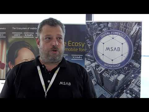 From DIC Zurich, June 2017 : a chat with Gerhard Gunst of MSAB
