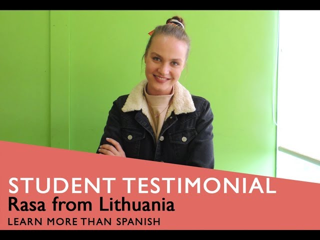 General Spanish Course Student Testimonial by Rasa form Lithuania