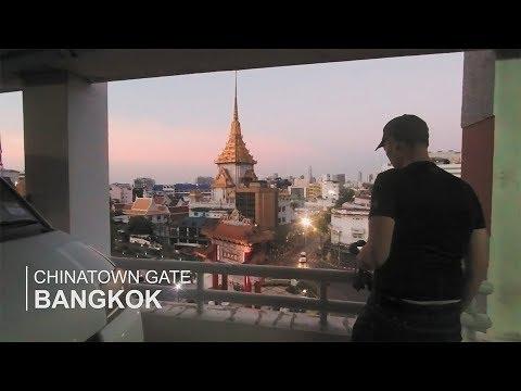 The Chinatown Gate in Bangkok