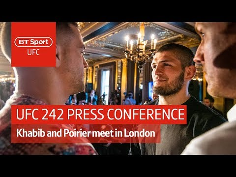 Full UFC 242 press conference: Khabib Nurmagomedov vs Dustin Poirier