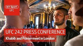 Full UFC 242 press conference: Khabib Nurmagomedov vs Dustin Poirier