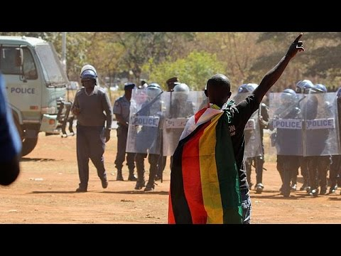 No 'Arab Spring' in Zimbabwe, Mugabe warns protesters
