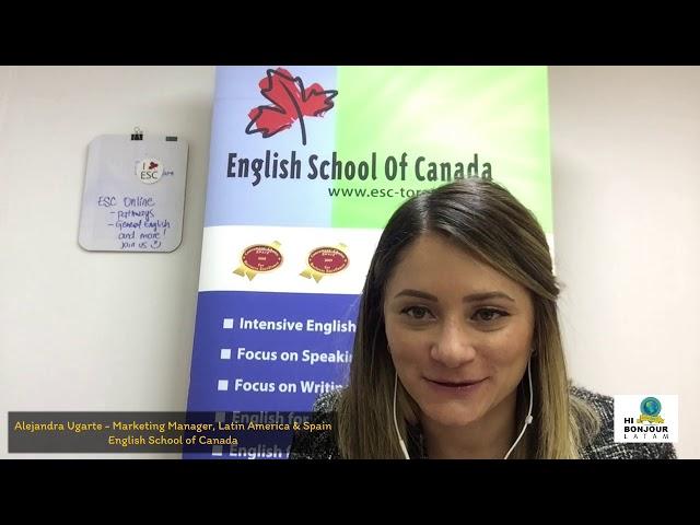 ¡Estudia inglés en la mejor escuela de Toronto, ESC!