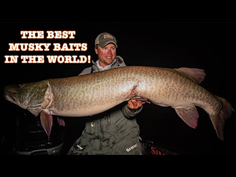THE BEST MUSKY BAITS IN THE WORLD (My Top 5 Bucktails For 2020) Tackle Tips Ep.6