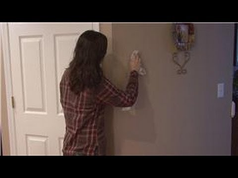 Housecleaning Tips How To Clean Non Washable Painted Walls Youtube