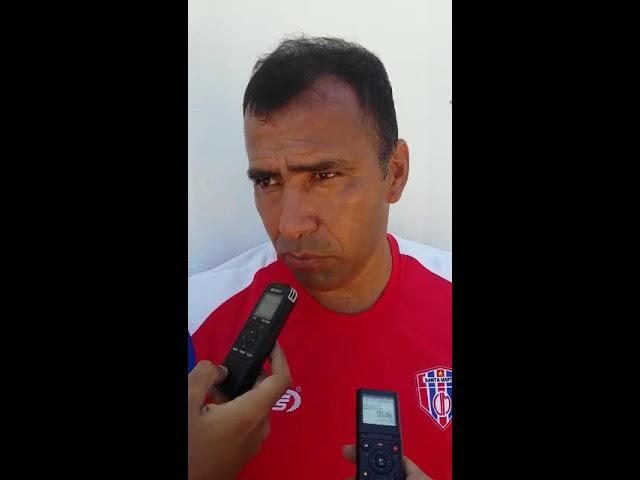 Harold Rivera, director técnico del Unión, analiza el rival de turno
