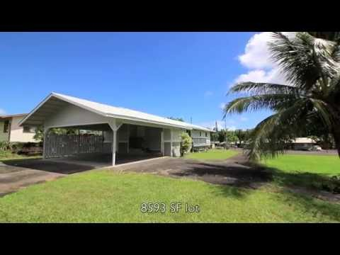 Hilo, Hawaii Home for Sale: 336 Popolo St Hilo, HI 96720
