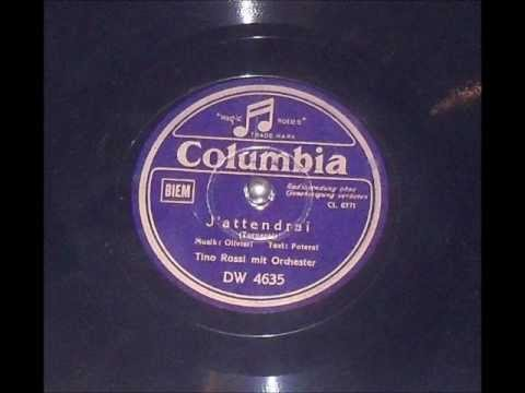 Tino Rossi - J`Attendrai (Recorded 1938) K-POP Lyrics Song