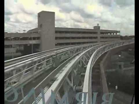 A Ride On The Birmingham AirRail Link (2nd August 2010)