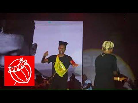 Kwesi Arthur & Medikal perform 'Otedola' remix with Dice Ailes @ Ghana Meets Naija '18   Ghana Music