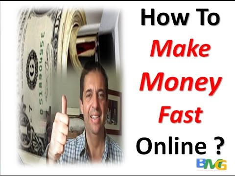 Make Real Money Online Fast
