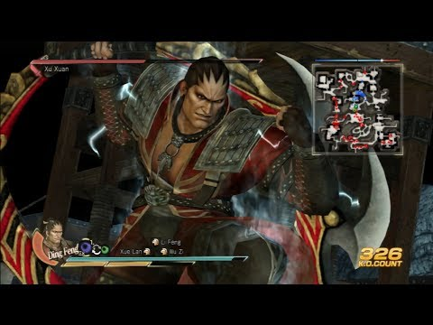 Dynasty Warriors 8: Xtreme Legends - Zhang He 6 Star
