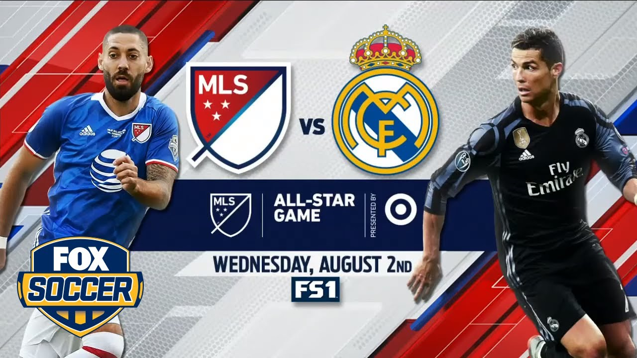 Image result for MLS All Stars vs Real Madrid pic