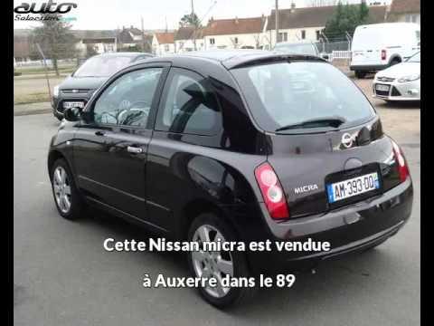 Planete Auto Auxerre : nissan micra occasion visible auxerre pr sent e par planete auto youtube ~ Gottalentnigeria.com Avis de Voitures