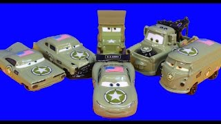 Download Disney Pixar Cars Army Doc Tells Army Car Lightning McQueen Mater Cars War 3 Filmore Mp3 and Videos