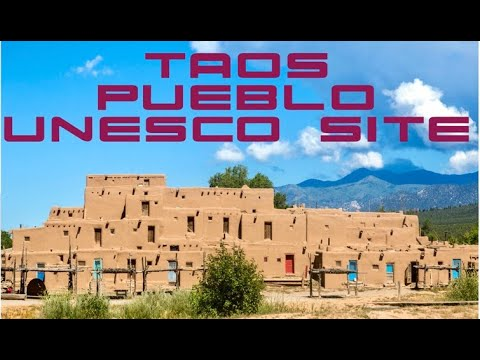 Taos Pueblo Native American Reservation Tour