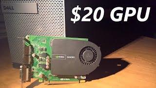 nvidia Quadro 2000: 20 Prebuilt-friendly Graphics Card