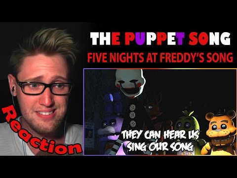 THE PUPPET SONG by TryHardNinja REACTION! | HELPING HANDS |