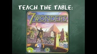 How to play 7 Wonders