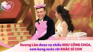 """Thánh Livestream Dương Lâm được vợ cung phụng như """"công chúa"""", cơm bưng nước rớt như con - VCS 😂"""
