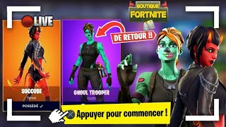 🔴Live Boutiques Fortnite du 8 mai 2019 - Fortnite item shop may 8 2019 - New skin