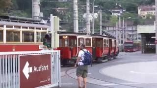 Innsbruck trams at 125   IVB at 75