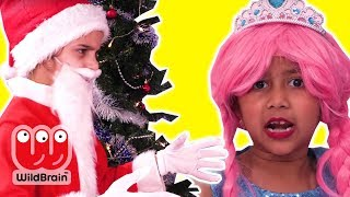 PRINCESS CHRISTMAS PRESENTS GO MISSING 🎁 Princesses In Real Life | WildBrain Kiddyzuzaa