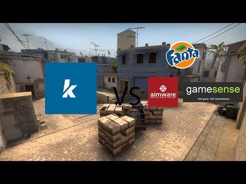 kidua and skeet vs aimware fanta and skeet MM HvH