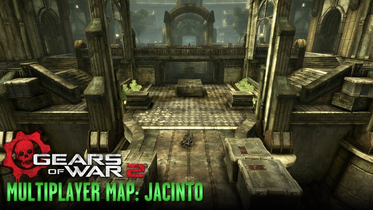 Gears of War 2 - Multiplayer Maps and Weapons - Jacinto on halo 3: odst, tekken 2 maps, left 4 dead, left 4 dead 2, call of duty waw maps, unreal 2 maps, company of heroes 2 maps, guild wars 2 maps, dead space, god of war, call of duty: advanced warfare maps, halo: combat evolved, unreal engine, mortal kombat 2 maps, red dead redemption, the elder scrolls v: skyrim, gears of war 1 maps, call of duty: modern warfare 3, metal gear 2 maps, advance wars 2 maps, dark souls 2 maps, dying light 2 maps, goat simulator maps, dante's inferno maps, the crew maps, gears of war 4 maps, call of duty: world at war, marcus fenix, halo: reach, epic games, call of duty mw2 maps, call of duty: modern warfare 2, gears of war 3, call of duty 2 maps, the last of us maps, mass effect 2, star wars battlefront 2 maps,