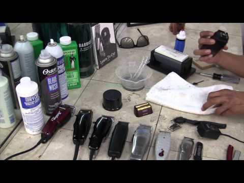 Wahl Super Close Shaver - How To Sharpen Clippers - Wahl Shaver By David Warren