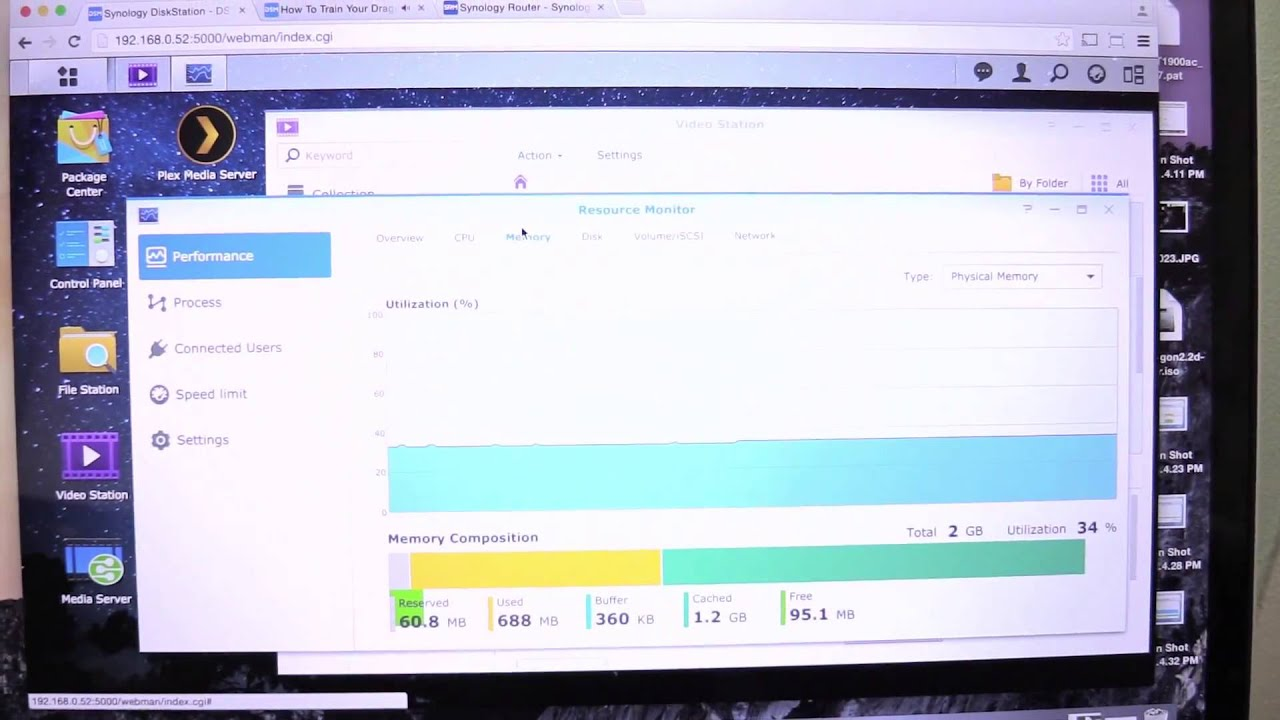 Synology - Video Streaming Demo With The DS1515+ NAS And RT1900AC Router