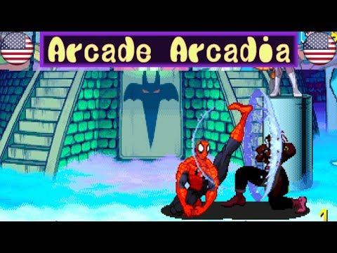 Marvel Vs Capcom(FightCade_Replay_mvsc)matches▶️-Spiceman Vs Game_tip 20191219②