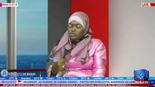 LIVE | Actualités en Débat du Mercredi  10 juillet 2019, à la Présentation: Soxna Fat'Cissé