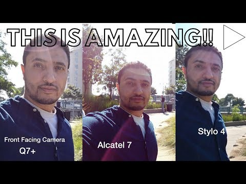 LG Q7 Plus vs STYLO 4 vs ALCATEL 7 - Camera Test Review!!