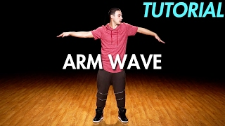 How to Arm Wave (Hip Hop Dance Moves Tutorial) | Mihran Kirakosian