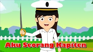 Aku Seorang Kapiten | Lagu Anak TV | I Am a Captain Song In Bahasa Indonesia