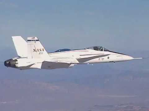 F-18 AAW High-Speed Rolls Over the Mojave Desert
