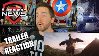 Marvel Studios' Avengers - Official Trailer Reaction | Avengers 4 | Avengers: Endgame