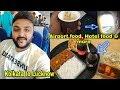 Kolkata to Lucknow indiGo || Airport food, Hotel food & more ||