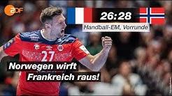 Frankreich - Norwegen 26:28 - Highlights | Handball-EM 2020 - ZDF