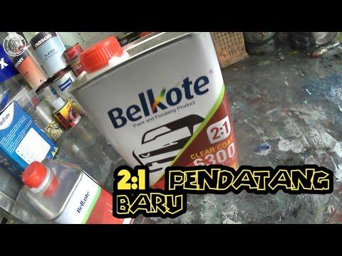 CLEAR PU 2:1 PENDATANG BARU - CLEAR BELKOTE 6300