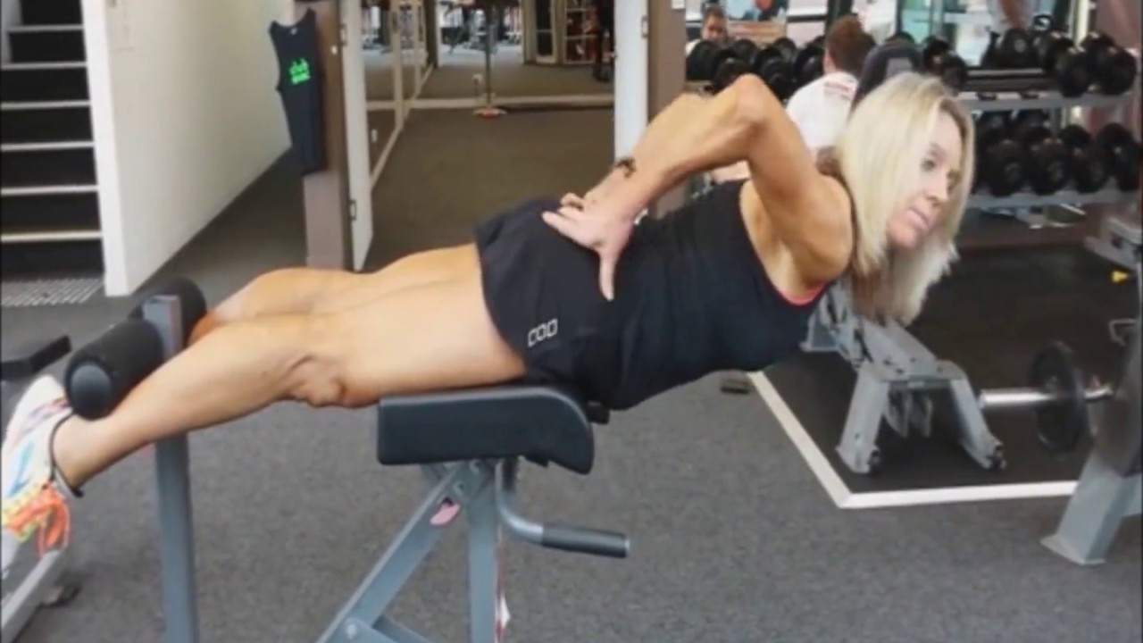 roman chair back extension muscles swivel jargon the used to build strong glutes youtube